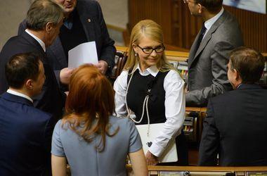 Депутатов будут через колено ломать, чтобы принять закон о выборах на Донбассе – Тимошенко
