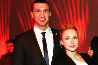 Хайден Панеттьери показала свое любимое фото с Владимиром Кличко