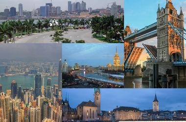 Названы самые дорогие в мире города для туристов