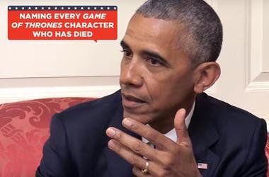 Обама блеснул знанием сериала