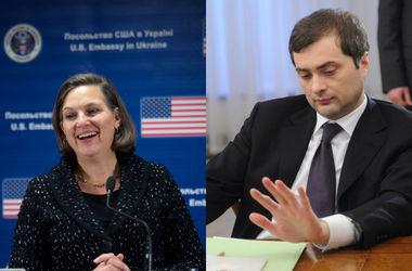Посольство США и Кремль прокомментировали итоги переговоров Нуланд и Суркова