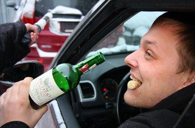 Пьяных водителей в Украине предлагают сажать в тюрьму