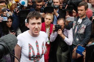Савченко рассказала, как на нее налетела