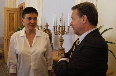 Савченко встретилась с главой ПА ОБСЕ