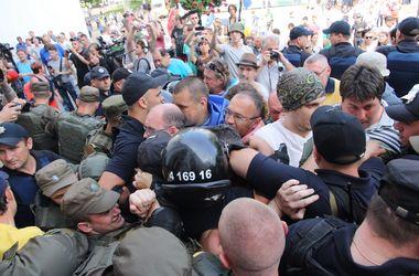 Сессия №2 в Одессе: устроили потасовку, применили газ и жгли покрышки