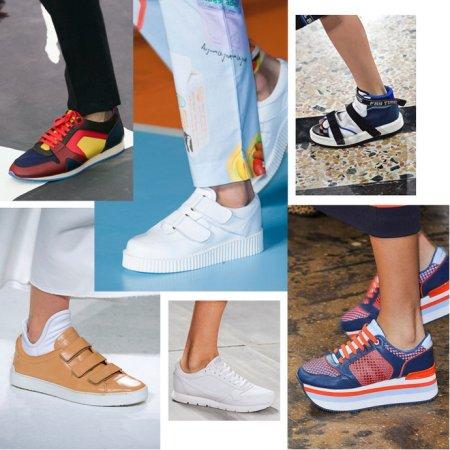 Стильная спортивная обувь: что ждет вас в теплом сезоне