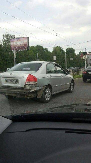 История с неудачной автоподставой во Львове получила неожиданное продолжение