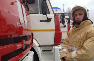 В Крыму загорелся туристический автобус с 37 детьми