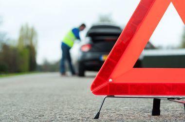В Винницкой области люди перекрыли дорогу и требовали наказать пьяного водителя