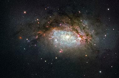 Хаббл нашел галактику, которая