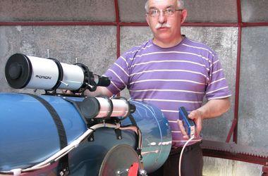 Военный в отставке построил под Одессой обсерваторию и открывает новые звезды