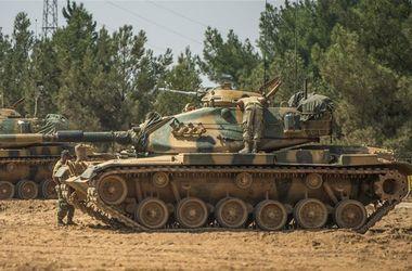 Курды атаковали турецкие танки в Сирии