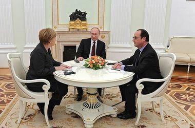 На саммите в Китае трехсторонней встречи Меркель, Олланда и Путина по Украине не будет