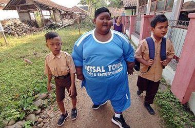 Самый толстый мальчик в мире смог