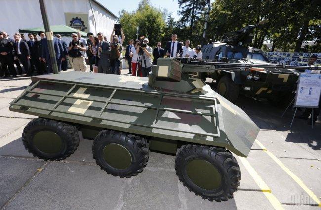 Укроборонпром презентовал новые образцы оружия и техники