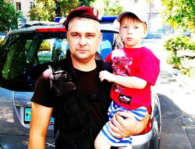 В Киеве полицейские нашли потерявшегося малыша