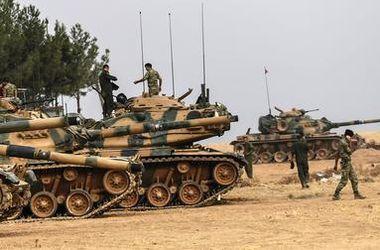 В Сирию вошли еще девять турецких танков
