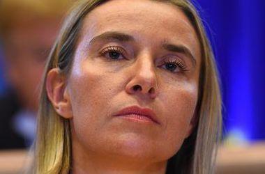 Могерини будет представлять ЕС на похоронах Переса