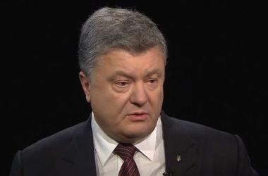 Порошенко рассказал, сколько российской техники сейчас на Донбассе