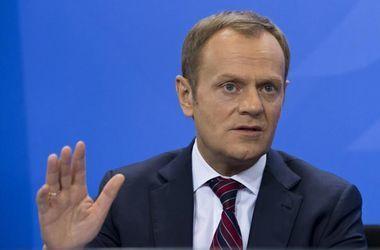 Президент Европейского совета Туск в конце сентября посетит Киев
