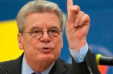 Президент Германии: Украинцы доказали, что принадлежат к европейскому сообществу ценностей