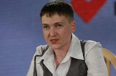 Савченко рассказала, сколько пленных удерживают боевики на Донбассе