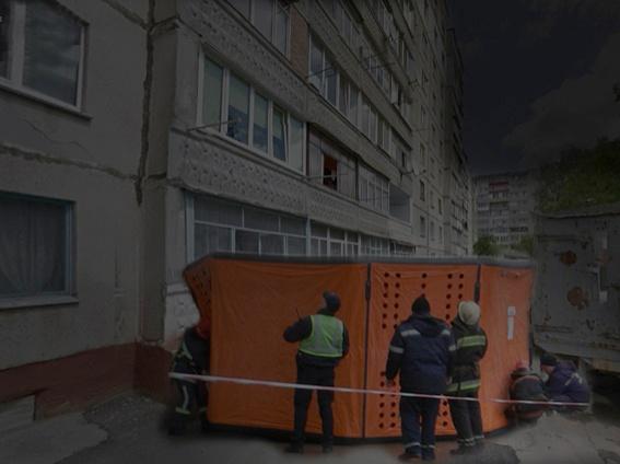 В Хмельницком спасатели задержали дебошира со взрывчаткой