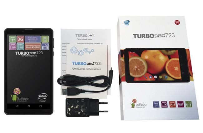 Достойная альтернатива раскрученным брендам — планшет TurboPad 723