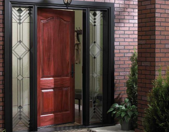 выбирайте железные двери разных цветов