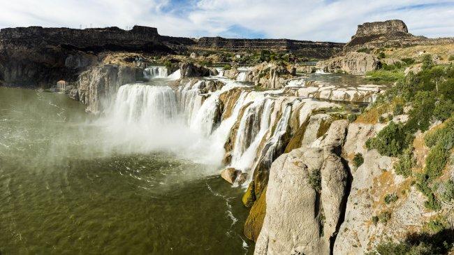 Водопад Шошони