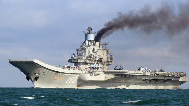 Минобороны РФ подтвердило катастрофу МиГ-29 при посадке на «Адмирала Кузнецова»