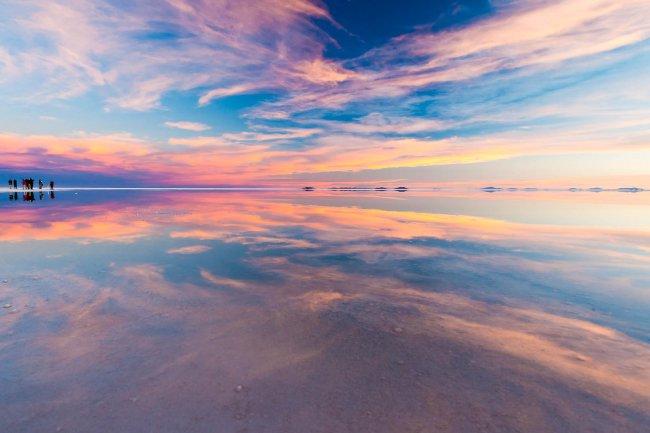 Соляное озеро Салар-де-Уюни