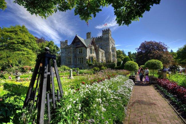 Замок Хэтли и его сады