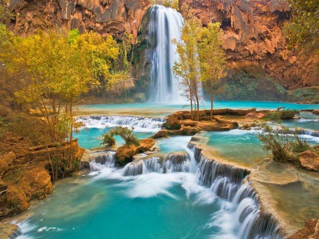 фото природа водопады