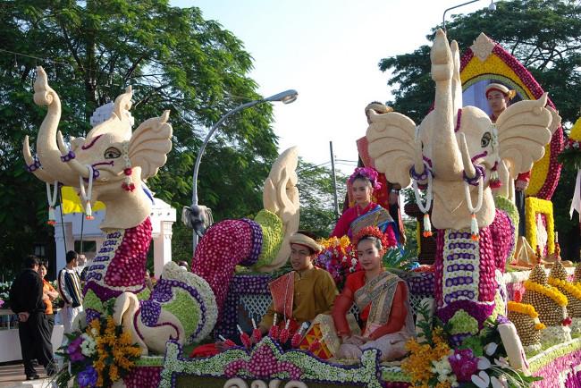 Фестиваль цветов в Таиланде – цветочная сказка