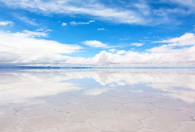 Солончак Уюни - белоснежный соленый рай