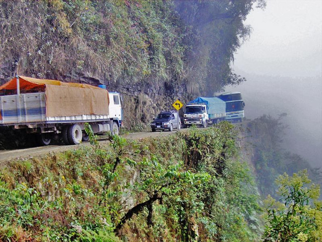 Дорога смерти в Боливии или ужасы «трассы Zero»