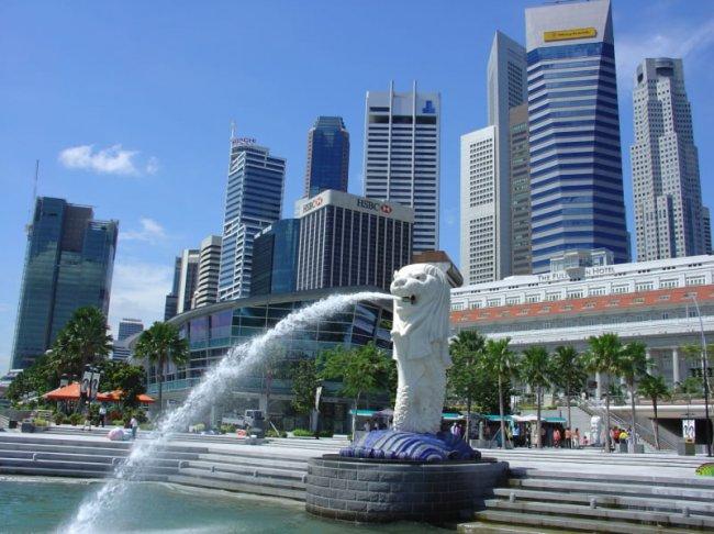 Прекрасный остров Сингапур
