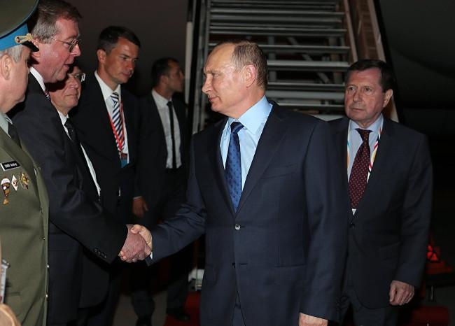 Путин прибыл на саммит G-20 в Гамбург